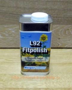 berger fitpolish - средство, которое используется для ухода за паркетом под маслом и воском? как правило, оно полируется после нанесения