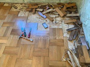 ремонт паркета в Москве и области, реставрация паркета, ремонт паркетной доски